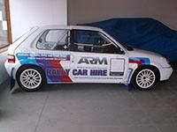 Rally Car Hire